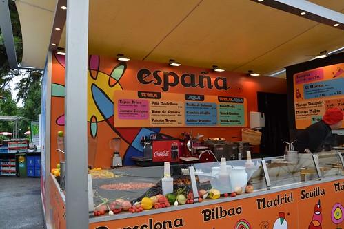 Comida española en Viena