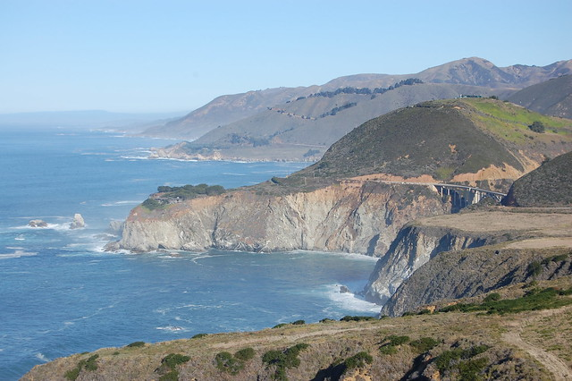 Big Sur - over looking the Bixby Bridge