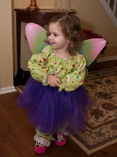 Wings and a tutu for Leah