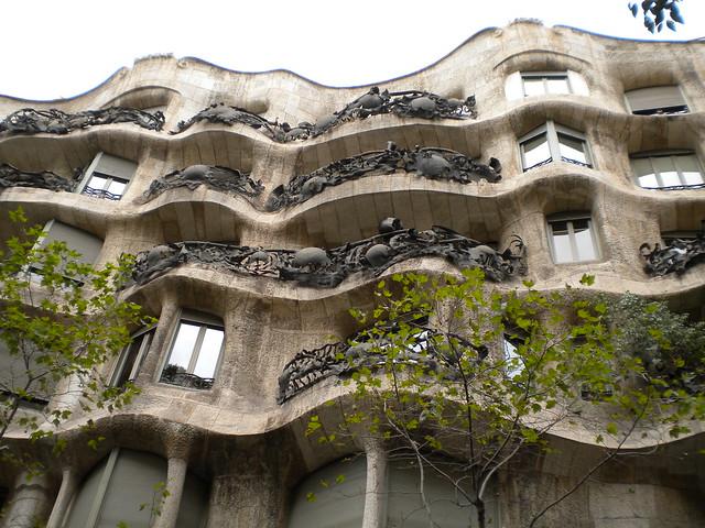 La Casa Milà de Gaudí