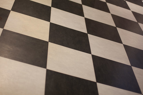897/1000 - Chequered Floor by Mark Carline