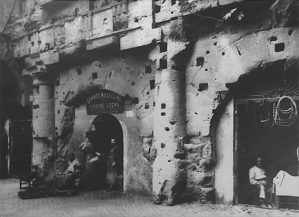 Baños Roma Teatro Linea De Sombra:Sacramento Street tras el gran terremoto ( San Francisco , 1906)