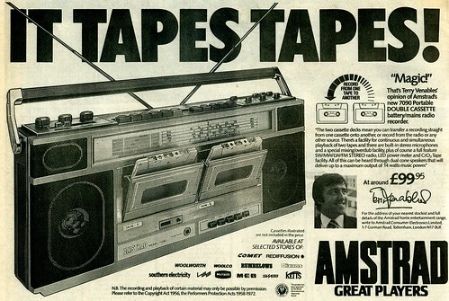 twin-cassette-tape-recorder by mattstevensguitar