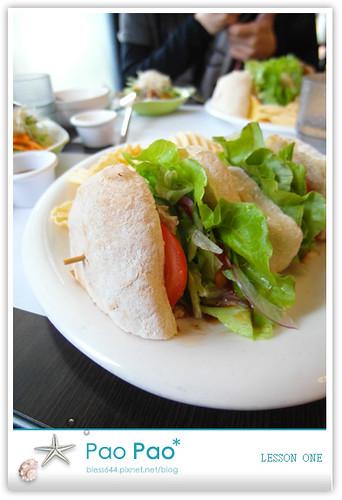 LESSON ONE-拖鞋麵包-美式BBQ烤肉拖鞋麵包