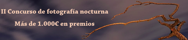 Imagen promocional del II Concurso de fotografonocturno.com