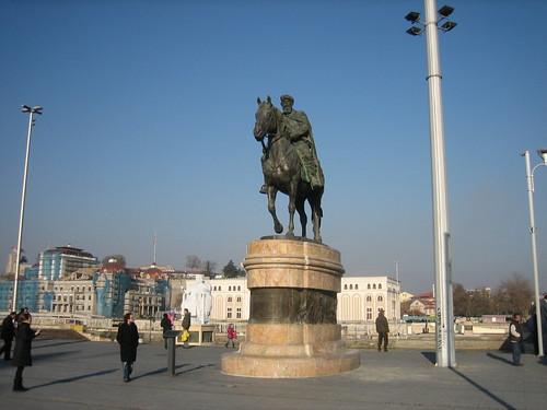 Skopje Town Square