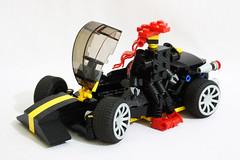Blacktron Spider : Driver