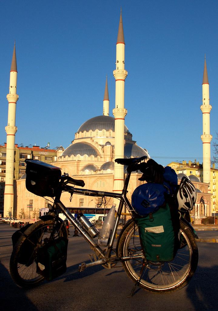 Arriving in Konya
