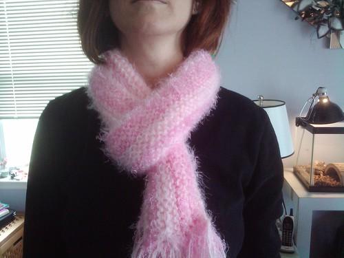 Olivia's scarf
