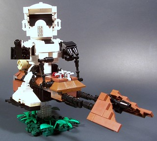 CHIBI Scout Trooper and Speeder Bike