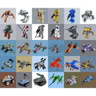 2011 Lego builds overview