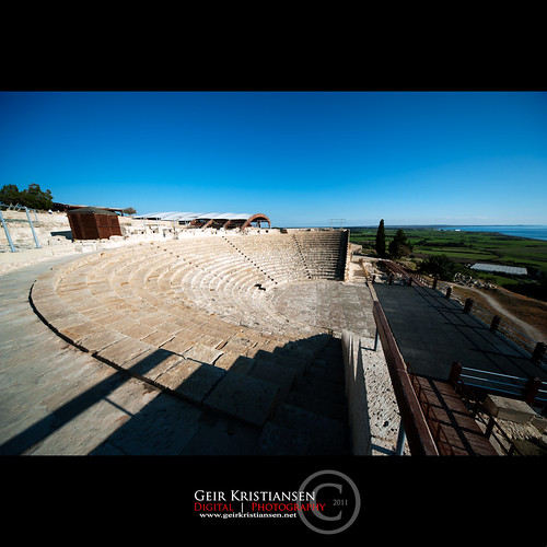 theatre cyprus paphos pafos kourion sigma1224mmf4556 withastunningviewoverthemediterraneanocean