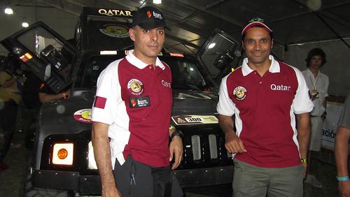 Nasser-Lucas Cruz Dakar 2012