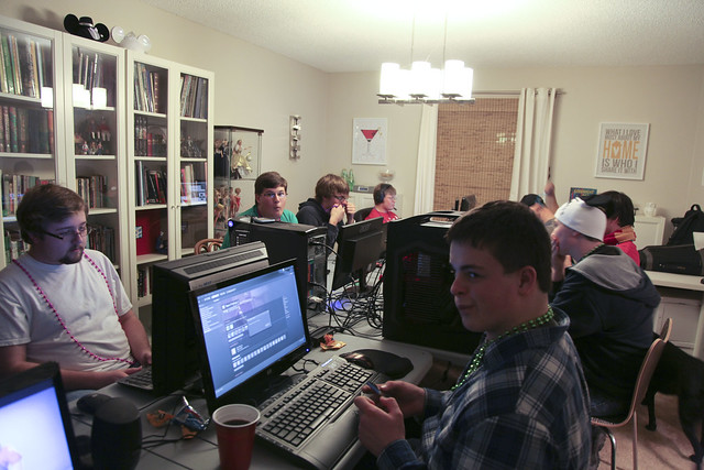 New Year's Eve LAN Party