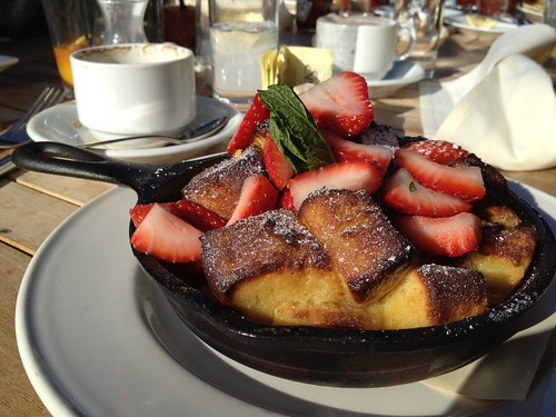French toast / pudding from Eastside West