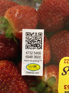 QR Code answers: Who Grew my Strawberries?