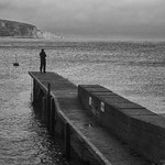 Grey day in Swanage