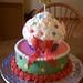 Stephane's cupcake cake
