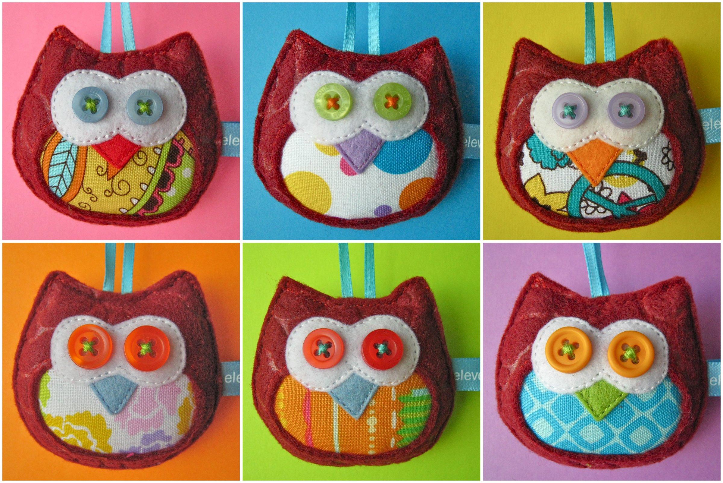 The tiny bordeaux owls