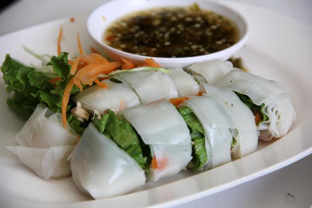 Fresh Thai Spring Rolls