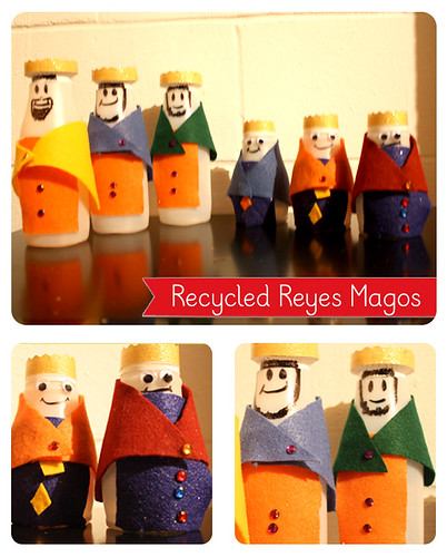 Recycled Reyes Magos