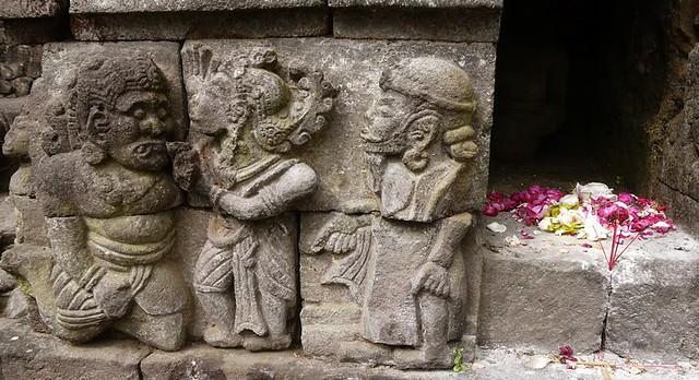 Temple sculpture, Candi Sukuh, Gunung Lawu