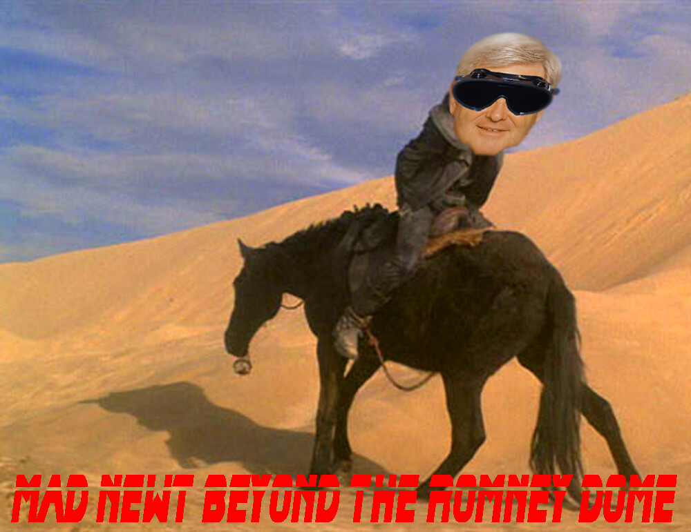 MAD NEWT BEYOND THE ROMNEY DOME