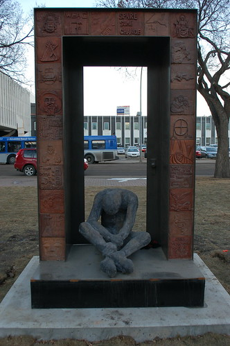 Sculpture for the Homeless by raise my voice