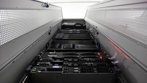 server cluster photo