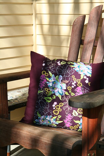 plum pillow on the porch (2)