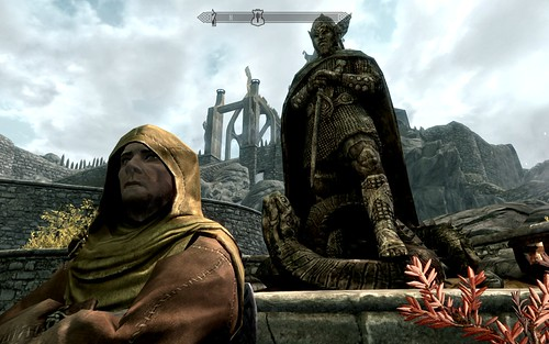 The annoying priest in Whiterun