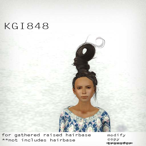 booN KGI848 hair