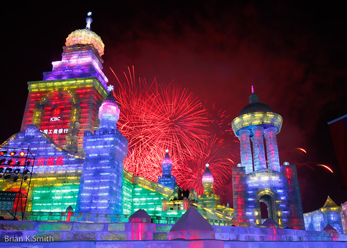2012 Harbin International Ice and Snow Festival Opening Fireworks, Heilongjiang