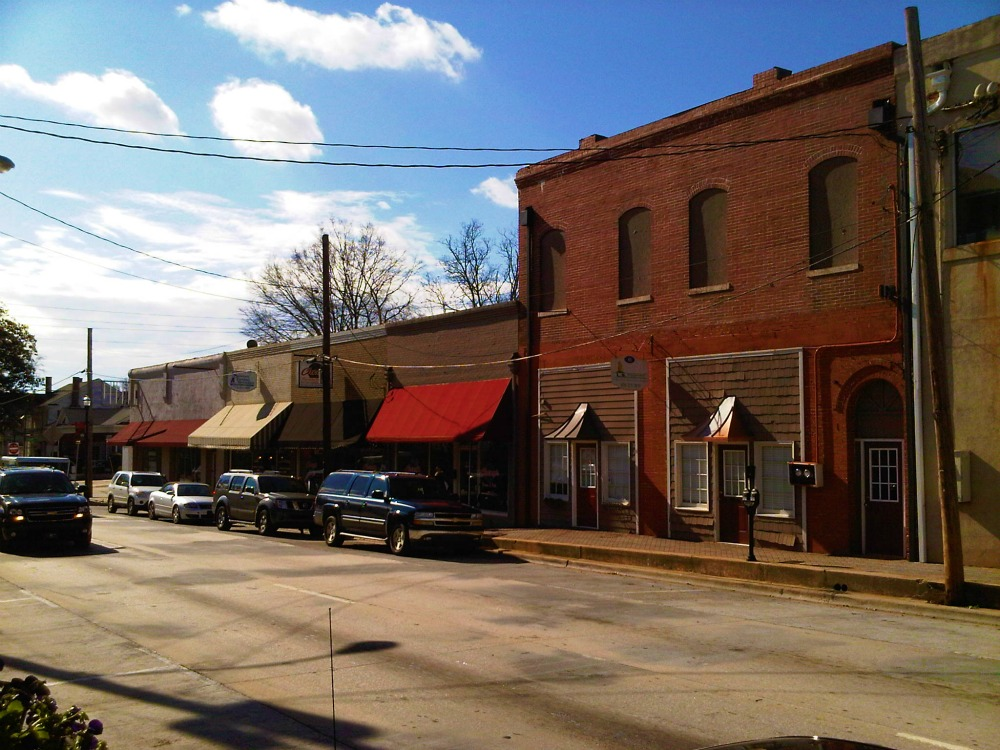 Macon Street Looking South McDonough, Ga