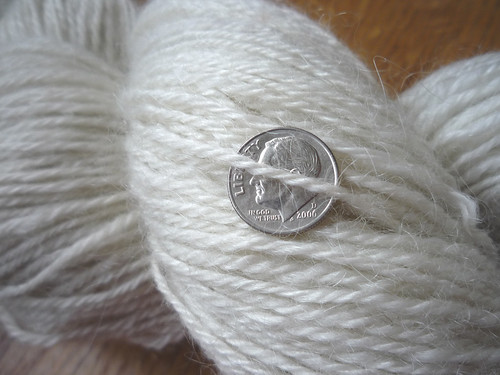wool and mohair yarn