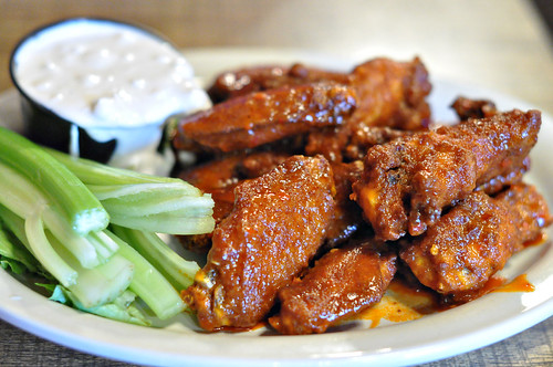 Buffalo Wings at Jethros Char House ~ Manhtomedi, MN
