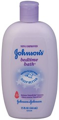 Johnson's bedtime bath