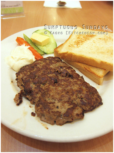 Sumptuous Sundays: Makati Supermarket's Hamburger Steak