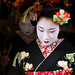 geisha / make up / face / beautiful / portrait / pretty / black