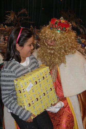 Los Reyes Magos visitan a los niños del Rescate (V)