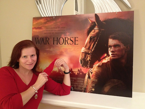 War Horse Sam Lane and red carpet x560px