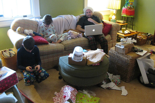 A 21st Century Christmas Morning