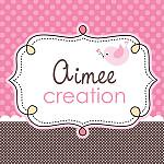 Logo for Aimee Creation