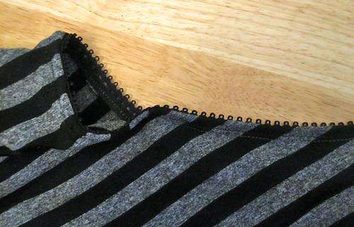 Picot Elastic Neckline