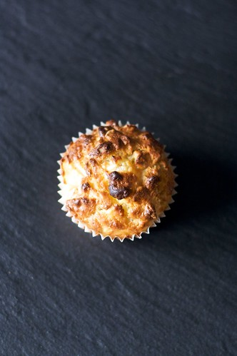 Oats and pear muffin