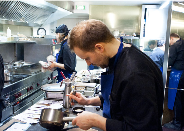 Agape Substance - Chef at Work
