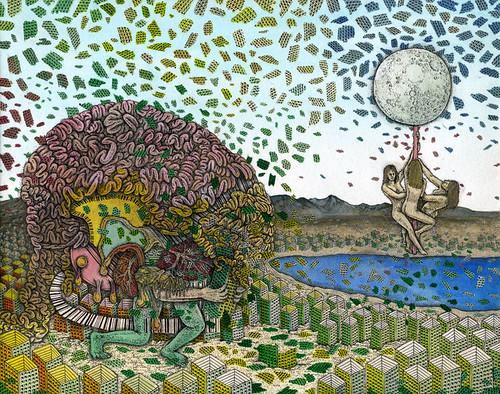 "Tadashi Moriyama ""A Brain Eating Up Buildings"""