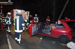 Verkehrsunfall Saarstraße 14.01.12
