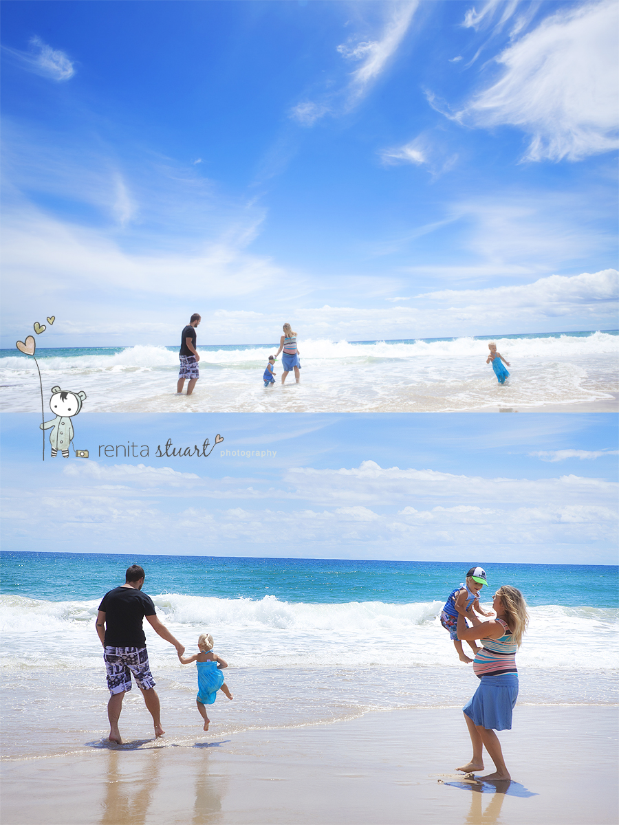 Gold Coast family beach fun