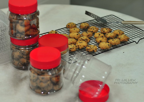 Chocolate-Chip Cookies for Chinese New Year